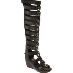 knee-high gladiator. you're doing it right | clothes | Pinterest ...