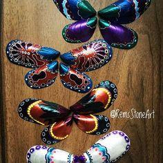 Shell butterflies
