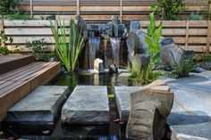 Top 8 Amazing Minimalist Fish Pond Design Idea To The Beauty Of Your Home Yard In addition to a beautiful garden or yard, the fish pond is also a target for those who want to get comfort at home. Fish ponds indeed create a sense .