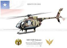"""MD530F """"Defender"""" H-132 Chile JP-1147"""