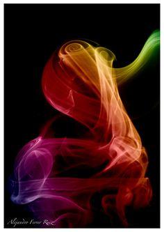 Solo humo by Alejandro Ferrer Ruiz  reminded me of seminary.... en fuego es solo humo hehe