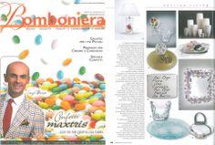 """VILLARI for the magazine """"Bomboniera"""" in april 2013"""