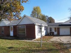 11234 N 300 E, Alexandria $15,900  This 2 bedroom 1.5 bath brickvinyl home would be a great starter home for any individual or family. Sitting on one acre this small town home has lots of potential and lots of space. The fenced in yard would be ideal for pets or children and the fireplace in the family room would make this home feel extra cozy. The large barn would make for a great workshop or just a storage space. Schedule an appointment today