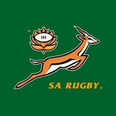 South African Springboks (my Hubby's favourite rugby team, and I will be honest,I like them too! South Africa Rugby, Watch Rugby, Rugby Championship, Team Coaching, Rugby Players, Rugby Teams, Rugby World Cup, Totems, Quotes