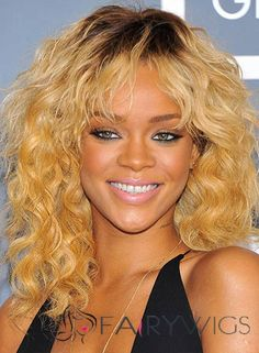 View yourself with Rihanna hairstyles and hair colors. View styling steps and see which Rihanna hairstyles suit you best. Swag Hairstyles, Rihanna Hairstyles, Cute Girls Hairstyles, Celebrity Hairstyles, Haircuts, Cheap Human Hair, Human Hair Wigs, Medium Hair Styles, Curly Hair Styles