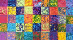 In the Art Room: Experiments in Color Mixing