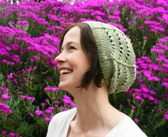 Pastel Green Scallop Lace Hat
