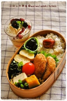 I love this japanese pack lunch!!!!