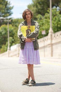 #CercasiAmore Per La Fine del Mondo - #KeiraKnightley in una foto del #film
