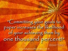 4 Easy Steps to Help You Achieve Your Goals in 2013 #goals #goal_setting #goal_quotes #blogs #enlightenednetworker #briantracy