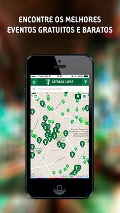 Qualquer problema, dúvida ou sugestão relacionada ao aplicativo Catraca Livre você pode enviar um e-mail para app@catracalivre.com.br