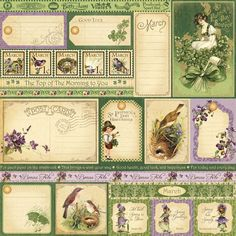 March Journal Cards