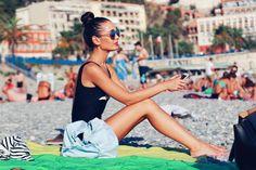 Nice beach Nice Beach, France, Running, Sports, Hs Sports, Keep Running, Why I Run, Sport, French