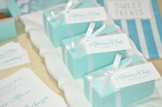 favor box + tags (so simple, yet so lovely)