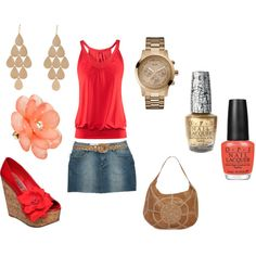 Summer Date Night, created by kmarch14.polyvore.com