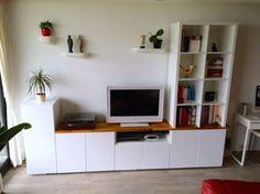 [On lit] Tv unit from ikea metod kitchen cabinets - Ikea hackers @ikeahacks