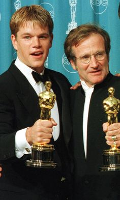 Pin for Later: Matt Damon's Touching Story About What It Was Like to Work With Robin Williams Will Break Your Heart All Over Again Robin Williams Movies, Robin Williams Quotes, Damon Quotes, Good Will Hunting, Jason Bourne, Touching Stories, Matt Damon, The Expendables, Jason Statham