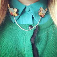 Dizzy Miss James - Instagram. #LaylaAmber collar clips.