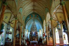 8) Map out a tour of the painted churches!