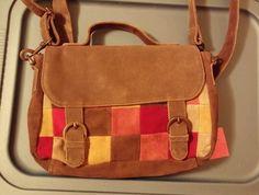 Ending soon Sahalie Leather Messenger Bag Used #Sahalie #MessengerCrossBody