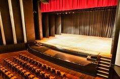 The Marana Auditorium stage! Being over 20m long, this stage is the perfect place to hold your concert or show!
