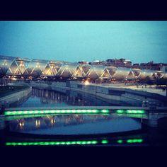 Bridges in Madrid Rio