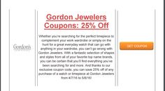 Brought to you by http://www.imin.com and http://www.imin.com/store-coupons/gordons-jewelers/