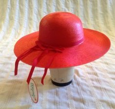 Vintage Old New Stock BANASH Hat Lace Up Accent $25 Shipped
