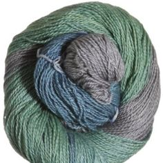Jade Sapphire Silk/Cashmere 2-ply Yarn - '13 Holiday Collection - City of Glass   LOVE.  want.