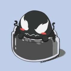 Venom in a jar by Nichoopudj on DeviantArt Venom Spiderman, Marvel Venom, Marvel Funny, Marvel Memes, Marvel Avengers, Univers Marvel, Venom Comics, Marvel Comics, Loki