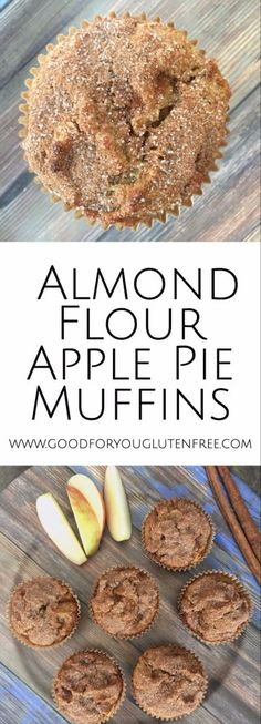 Mandelmehl-Apfelkuchen-Muffins Mandelmehl-Apfelkuchen-Muffins – gut für Sie … Almond flour apple pie muffins almond flour apple pie muffins – good for you the free gluten bake apple pie Apple Pie Muffins, Almond Flour Muffins, Apple Cinnamon Muffins, Baking With Almond Flour, Almond Flour Recipes, Baking Flour, Apple Pies, Cookies With Almond Flour, Desserts With Almond Flour