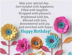 Happy Birthday Greeting Cards Images Card Messages Pictures