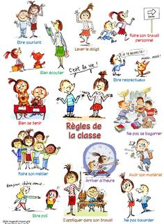 Règlement de classe Max et Lili : affiches et diapo - Chez Val 10 French Language Lessons, French Lessons, Teaching French, French Education, Kids Education, French Classroom Decor, Max Et Lili, Basic French Words, Teaching