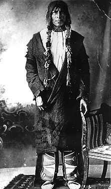 Almighty Voice. Almighty Voice, or Kah-kee-say-mane-too-wayo, meaning Voice of the Great Spirit, also known as Jean-Baptiste, CREE, outlaw (b near Batoche, Sask 1874; d there 30/31 May 1897). Almighty Voice's tragic confrontation with the North-West Mounted Police resulted in the last battle between whites and natives in North America. He grew up on the One Arrow Reserve near BATOCHE. In October 1895 he was arrested for illegally butchering a cow.