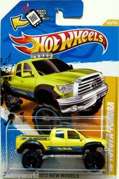2010 Toyota Tundra Hot Wheels 2012 New Models #40/50 Black BRO DAVE'S RACING ylo