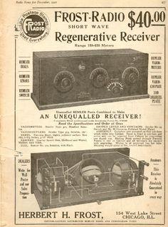 From Radio News, December, 1921