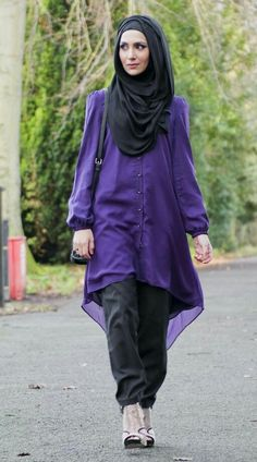 Hijab and abayas is modest Islamic clothing staple attire of women wardrobes either tradition of tre Islamic Fashion, Muslim Fashion, Modest Fashion, Hijab Fashion, Classy Fashion, Fashion Dresses, Beautiful Muslim Women, Beautiful Hijab, Beautiful Outfits