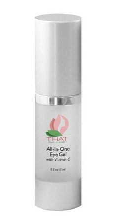 THAT Eye Cream All-In-One Eye Gel with Vitamin C - Best Anti Aging Serum Alternative For Wrinkles, Dark Circles, Puffiness and More - Effective Formula Helps Soothe and Refresh Delicate Under Eye Skin - Easy To Apply, Oil and Paraben Free by THAT Eye Cream, http://www.amazon.com/dp/B00CDTHC6G/ref=cm_sw_r_pi_dp_JneGrb1CCPN8K