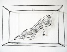 Diane Komater | Wire Sculptures. Looked at a lot of her work in Nevada City today. Very cool!!!