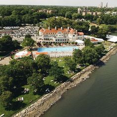 It's looking like another fabulous summer weekend at Travers Island. #nyac