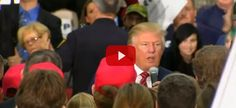 WATCH: This Vet Just Asked Trump 1 Question That Makes Him Instantly Walk Off Stage...in an emotionally charged face-to-face meeting...