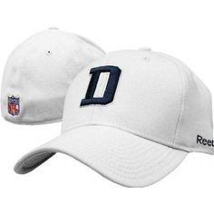 e644c7ecb Dallas Cowboys NFL Reebok Coaches Sideline Flexfit White Hat (L XL) by NFL