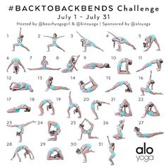 July Yoga Challenge starts today!!!