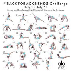 July Yoga Challenge starts today!!!