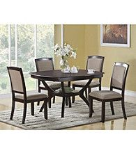 Product: Monarch Contemporary Cappuccino Ash Veneer Dining Collection