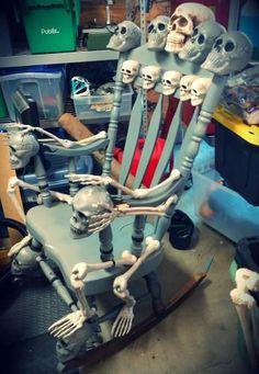 Halloween Forum member KrushR's Throne of Bones. Id love to do something like this one day.
