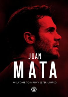 Juan Mata Welcome to Manchester United Best Football Team, Football Soccer, Manchester United Football, Manchester City, United We Stand, Salford, Red Army, Man United, Soccer Players