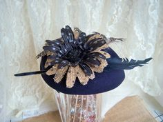 Vintage Hat Upcycled Wool Hat Ladies Hat Womens by AngelandAnnie, $21.00