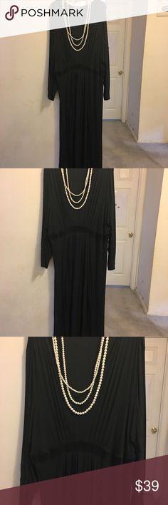 Black Lilac Relax Happy Pants Secret Treasures Pajamas Nightgown 3x 22w 24w Quality And Quantity Assured Sleepwear & Robes