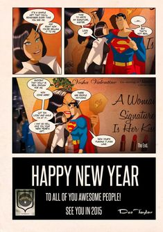 As we say goodbye to 2014 I look back on what has been an amazing year for me as an artist. Starting off at London Super Comic Con, an exhib. Action Comics 1, Lois Lane, Lex Luthor, Comics Universe, Man Of Steel, Power Girl, Marvel Dc Comics, Happy New Year, Superman